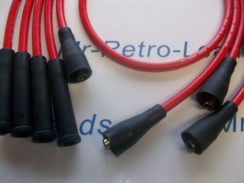 Rosso 8MM porta le prestazioni di accensione si adatta a VW Scirocco Corrado Polo Qualità HT.