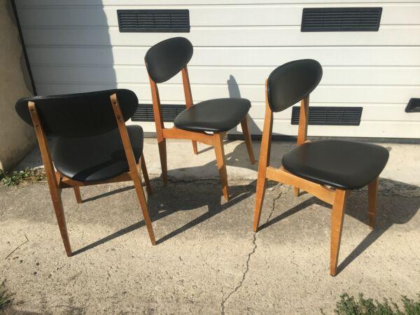 3 Chaises Retro 1950