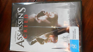 ASSASSINS CREED DVD ,BRAND NEW SEALED