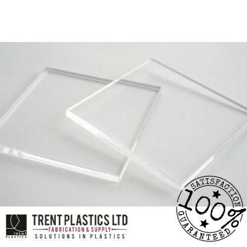 3MM CLEAR PALGLAS™ ACRYLIC SHEETS PERSPEX CUSTOM CUT TO SIZE PLASTIC PANELS
