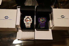 Casio G-SHOCK GA-110PS-7AJR and GA-110EV-6AJR Evangelion Complete RARE Limited