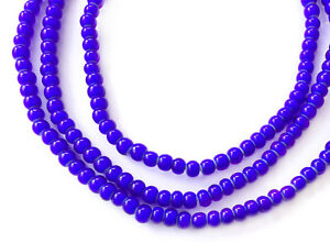 5mm-Ghana-African-cobalt-Blue-White-Heart-glass-African-trade-beads