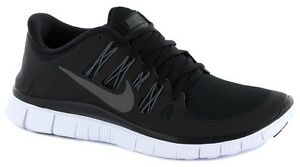 Image is loading Nike-Free-5-0-Mens-Running-Shoes-Black-