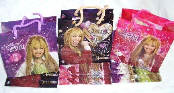 Många tjejer från Hannah Montana Pkonsty Favor till bray Gift