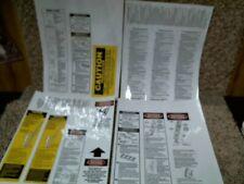 Werner Lfe100 Fiberglass Extension Ladder 17 Labels Best Price More Labels