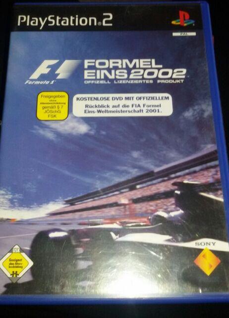 Formel Eins 2002 (Sony PlayStation 2, 2002, DVD-Box)