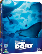 Finding Dory 3D + 2D Blu-Ray Steelbook Limited Edition New.
