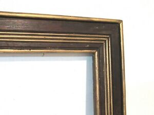 ART-DECO-GILDED-WOOD-FRAME-FOR-PAINTING-PRINT-20-x-15-INCH-e-3