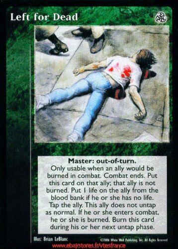 Third Edition Master Left for Dead VTES V:TES