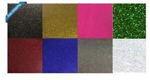 "Glitter Heat Transfer Vinyl Perfect for Silhouette Cameo, Cricut, 3 feet x 20"""