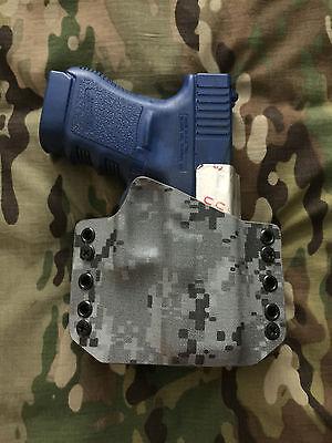 Urban Digital Camo Kydex Holster for Glock 29 30