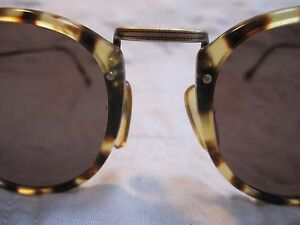 c65f7fd83d Image is loading Vintage-Giorgio-Armani-Yellow-Tortoise-Shell-Sunglasses -318-