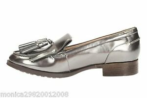 Image is loading Clarks-Womens-Casual-Busby-Folly-Leather-Mocassin-Shoes-