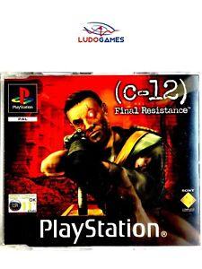 C-12-Final-Resistance-PAL-EUR-PSX-PS1-Promo-Retro-Playstation-Videojuego-Mint