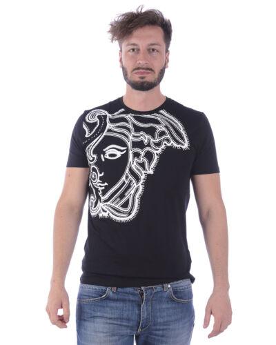 Versace Collection T Shirt Sweatshirt Cotton Man Black V800683SVJ00438 V7008