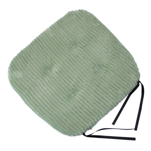 Square Cotton Chair Cushion Tie-on Kitchen Seat Cushion for Kitchen Garden