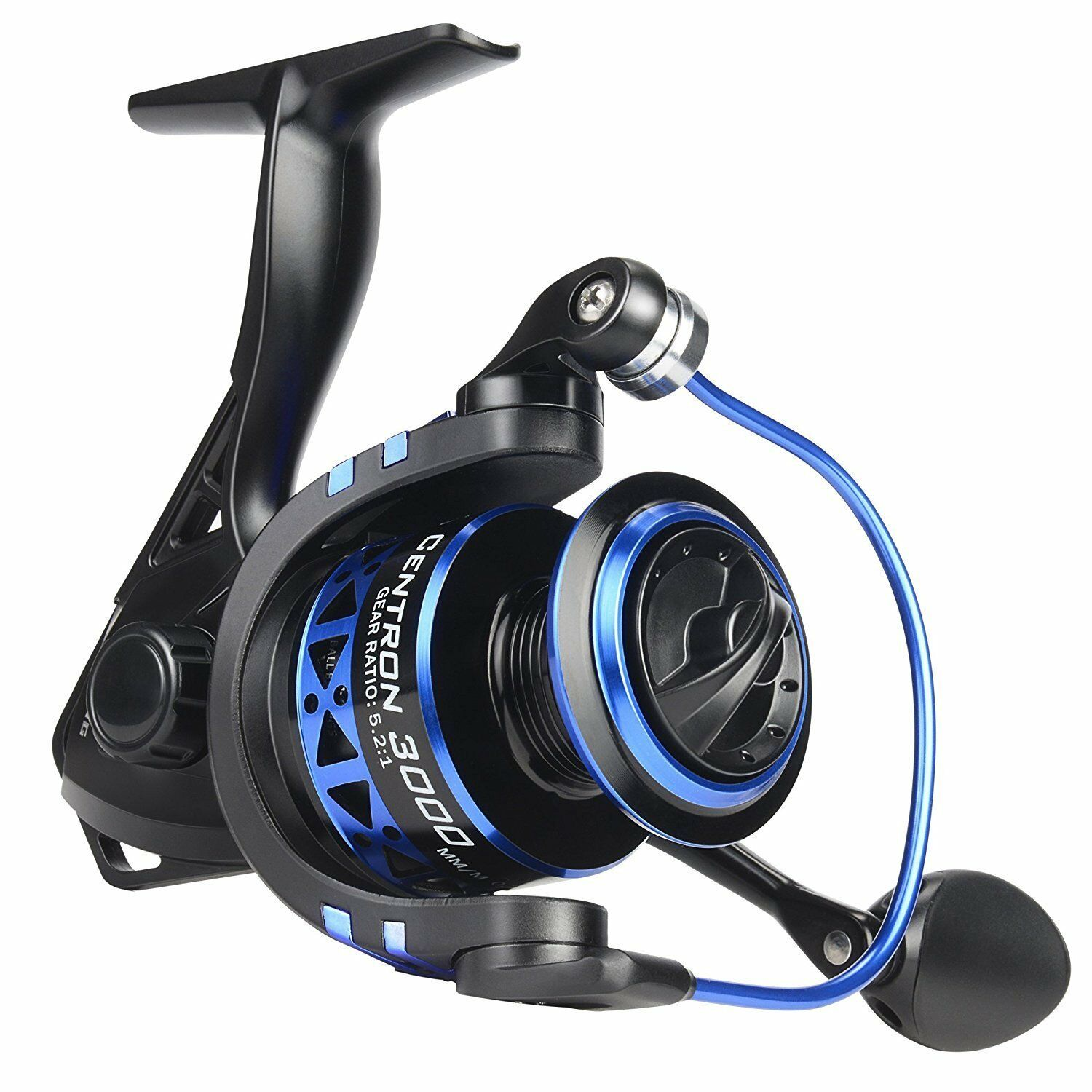 Fishing Spinning Reel 9 +1 BB Lightweight Smooth Bass Casting Spool Centron 3000