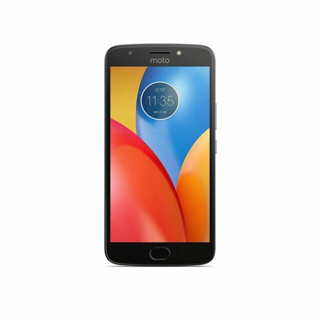 Motorola XT1775 Moto E4 Plus 16GB Quad Core Unlocked Smartphone, Iron Gray