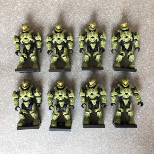 Mega Bloks Construx Halo UNSC Spartan 8 action figures lot *New Unused* Toy