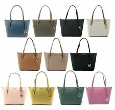 Michael Kors  Ciara Leather PVC Large Top Zip Tote Bag Handbag