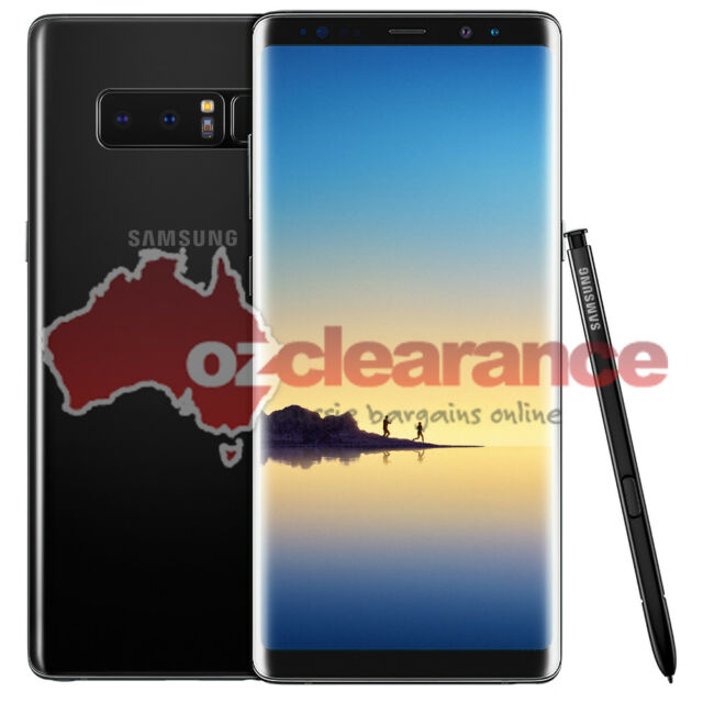 USED | Samsung Galaxy Note 8 SM-N950 | 64GB | Black | Smashed LCD & Back