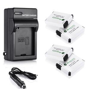 AHDBT-001-AHDBT-002-Battery-amp-Wall-Car-Charger-For-GoPro-HD-Hero2-Hero-2-Camera