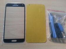 Kit reparacion completo Cristal de Pantalla Negro para Samsung Galaxy S5 I9600