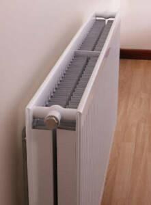 Quinn Round Top Central Heating Radiator 400 x 1000mm DC/22 Q22410RT