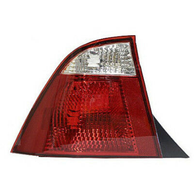 FO2800188N Tail Lamp Driver Side Fits 2005-2007 Ford Focus