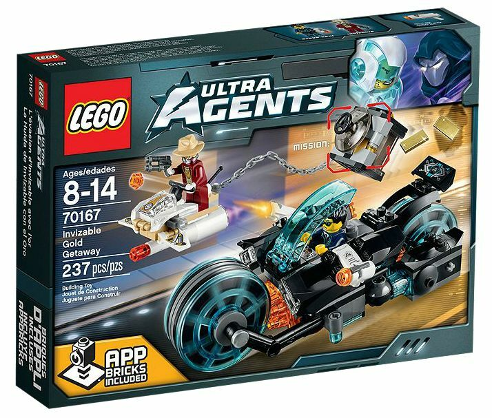 LEGO® Ultra Agents 70167 Invizable Gold Getaway NEU OVP NEW NEW NEW MISB NRFB 146a46