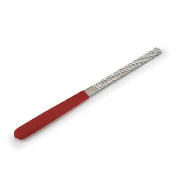"""Chemical Polished HALF ROUND Large Razor File 200mm Rasp Made in Japan 8/"""""""
