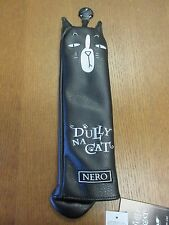 "NEW !!! DULLY NA CAT ANIMAL CAT GOLF HYBRID UTILITY HEAD COVER "" NERO """