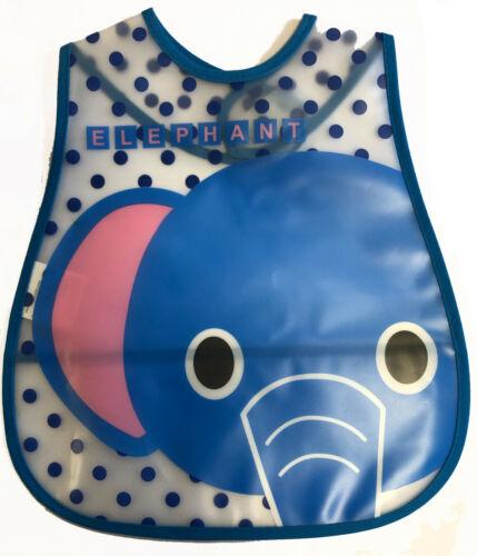 Baby Feeding Apron Kid Bib Waterproof Burp Toddler Art Weaning Food Catcher Play
