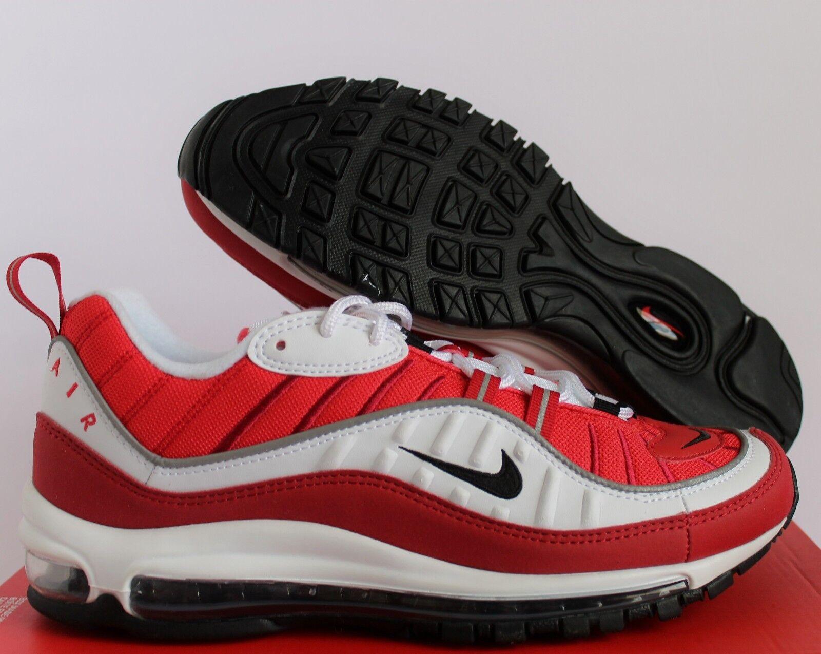 huge discount f5d18 5fd17 Nike Air Max 97 White-Gym Donne White-Gym 97 Red-Nero Sz 11     Uomo Sz 9,5  Ah6799-101