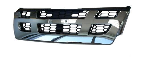 // RODEO PICK-UP 2.5 ISUZU D 3.0 TD GRIGLIA RADIATORE ANTERIORE Nero /& Cromato 9//05-06