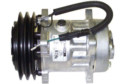 "GM Pad Mount 6/"" 2 Groove Clutch NEW OEM Sanden 4308 4807 AC Compressor SD7H15"