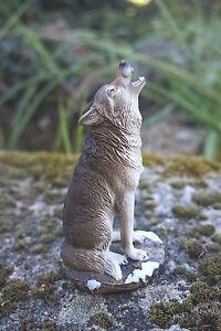 Mo0461 Figurine Statuette Famille Loup Louve Animal Sauvage * Q7u0d2xv-07223137-875822743