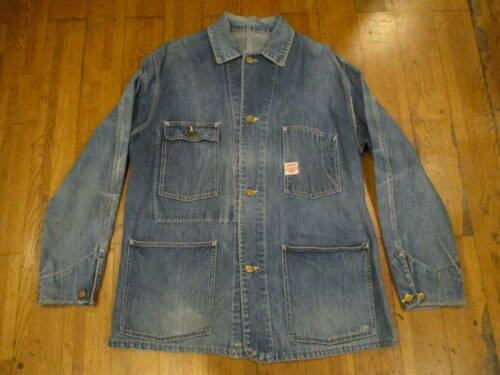 Carhartt Coverall Denim Jacket 40's 50's Vintage ​