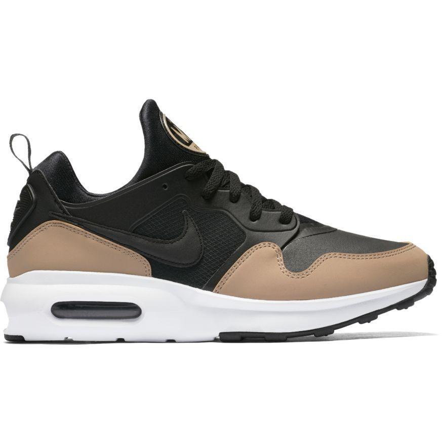 Men's Nike Air Max Prime SL Shoe 876069-004 BLACK/BLACK-KHAKI-DARK GREY