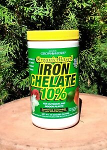 Details about Grow More Organic Iron Chelate 10%-- 24 oz  Indoor/Outdoor  Concentrate