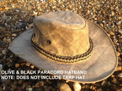 Will Fit any Hat Bushcraft Paracord Hatband 6.5Meteres of parachute cord