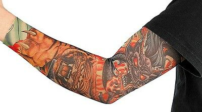 Tattoo-armling Tigre Drago Tatuaggio Calza Tattoo Manica Armling Carnevale-mostra Il Titolo Originale