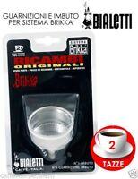 Bialetti FUNNEL BRIKKA 2 CUPS imbuto filter moka spare parts Trichter mokka