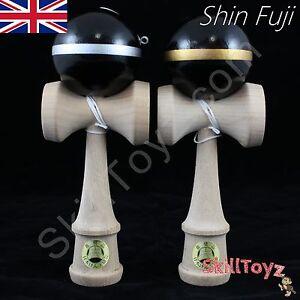 Shin-Fuji-Japanese-Wooden-Kendama-JKA-Approved-Rare-colour-choice-UK-SHOP