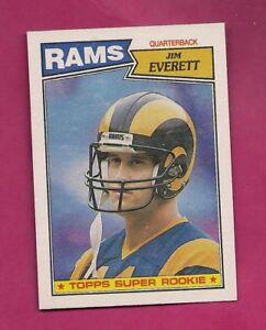 1987-TOPPS-145-RAMS-JIM-EVERETT-ROOKIE-NRMT-MT-CARD-INV-A5210