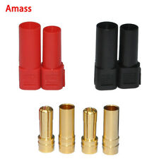 2sets Black/Red Tarot Amass XT150 120A Large Current Plug for rc lipo battery