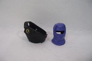 Accessoires-ACTION-MAN-1996-NINJA-Eagle-Eye-Blue-cagoule-et-armure