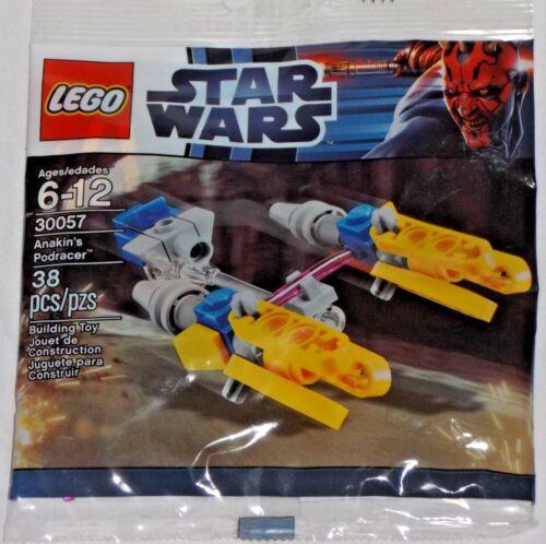 LEGO new sealed PROMO POLYBAG Baggie 30057 STAR WARS Anakin/'s Skywalker Podracer