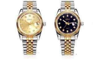 Business-Men-Lady-Luxury-Gold-Stainless-Steel-Zircon-Date-Quartz-Wrist-Watch-Box