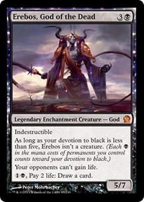 EREBOS, GOD OF THE DEAD Theros MTG Black Enchantment Creature — God MYTHIC RARE